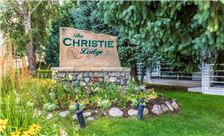 Christie Lodge Sign Summer