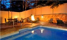 Outdoor Pool Fire Pit