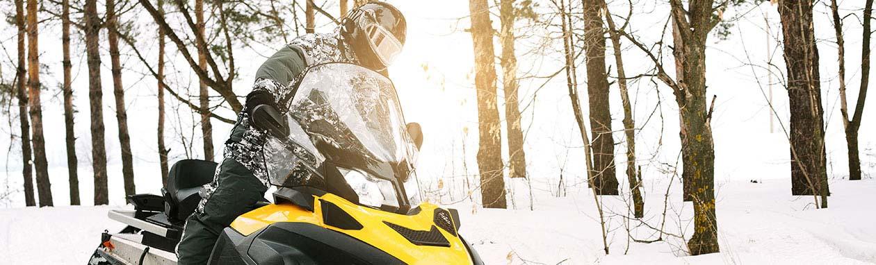 Snowmobiling, Avon